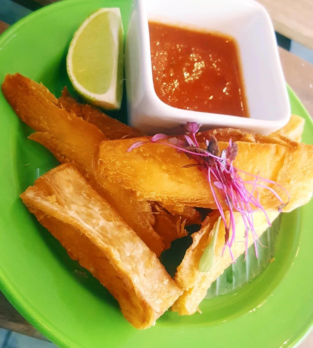 Cassava Yam Fries